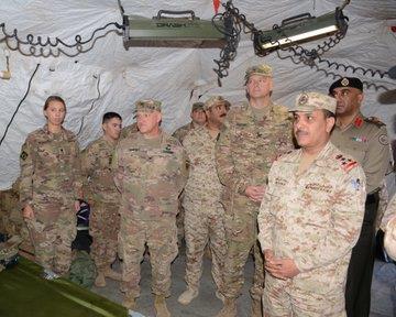 اختتام «رعد سبارتن 2» المشترك بين «القوة البرية الكويتية» ومدفعية الجيش الأمريكي