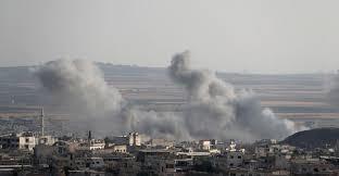 قصف روسي وسوري على إدلب