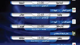 أبرز المباريات العربية والعالمية ليوم الأحد 8 ديسمبر 2019