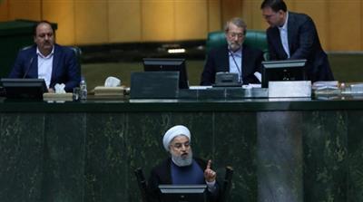 روحاني: ميزانية إيران تهدف لمقاومة العقوبات الأمريكية