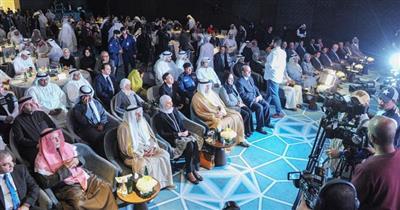 جانب من الحضور في مؤتمر ومعرض اتحاد الصناعات الكويتية السادس