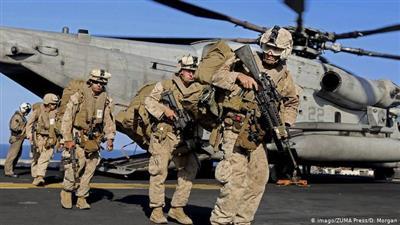عناصر عسكرية من الجيش الأمريكي