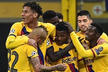 برشلونة يؤكد صدارته ودورتموند يقتنص البطاقة الثانية
