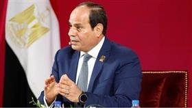 السيسي: نتحرك من أجل سرعة حل أزمة ليبيا التي تؤثر على أمننا واستقرارنا