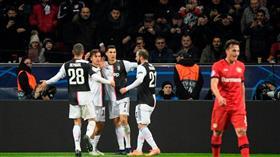 رونالدو يقود يوفنتوس لعبور ليفركوزن في دوري الأبطال
