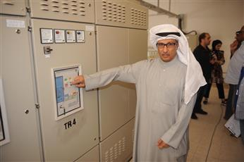 «الكهرباء»: جاهزون لإيصال التيار إلى 844 قسيمة في غرب عبدالله المبارك