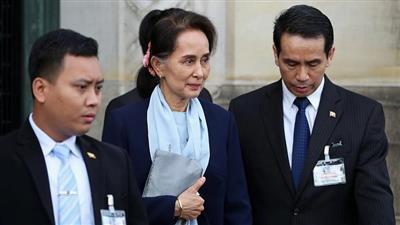 زعيمة ميانمار سان سو كي