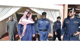 محافظ الأحمدي تفقد تجهيزات موسم الأمطار في مركز إطفاء الكوت