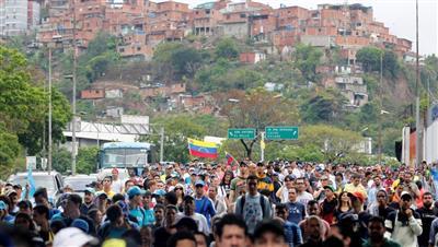 المعارضة الفنزويلية تنظم مسيرات لمواصلة الضغط على مادورو