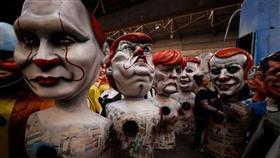 ترامب وبوتين ضمن مجسمات كاريكاتورية في كرنفال بنيس الفرنسية