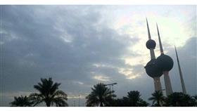 «الأرصاد»: طقس غائم مع فرصة لأمطار متفرقة وغبار