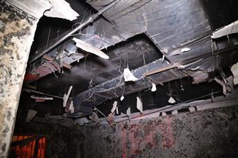 إخماد حريق منزل في الأندلس.. دون إصابات