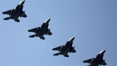 طائرات التحالف تقصف آخر معقل لداعش بشرق سوريا