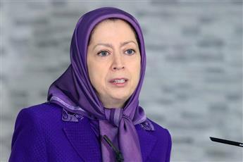 زعيمة المعارضة الإيرانية في الخارج مريم رجوي