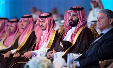 ولي العهد السعودي يدشن ميناء الملك عبدالله بمحافظة رابغ