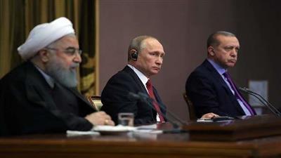 بوتين وروحاني وأردوغان يبحثون في سوتشي تطبيع الوضع في سوريا