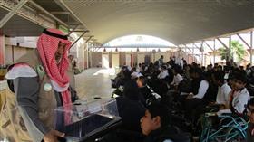 مدرسة الرجاء تنظم محاضرة الزراعة الحديثة