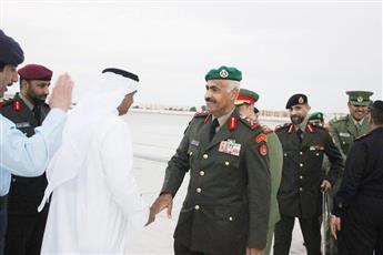 رئيس الأركان ووكيل الحرس الوطني يشاركان في معرضين دفاعيين بالإمارات