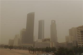 «الأرصاد» تحذر: نشاط في الرياح المثيرة للغبار.. وتقل معها الرؤية الأفقية