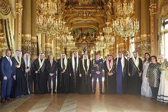 سفارتنا في فرنسا تحتفل بالأعياد الوطنية