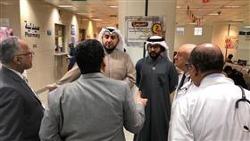 الشيخ الدكتور باسل الصباح يتفقد جاهزية قطاعات الوزارة خلال الأعياد