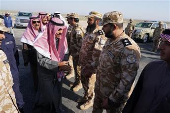سمو نائب الأمير وولي العهد الشيخ نواف الأحمد يزور إدارة