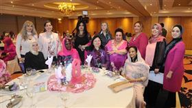 جانب من الاحتفال الذي اقامته لجنة المرأة الدبلوماسية في الكويت