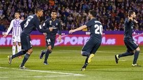 ريال مدريد يمسح جراحه برباعية أمام بلد الوليد