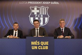 رسميا.. جوردي ألبا في برشلونة حتى 2024