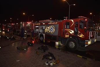 «الإطفاء»: إخماد حريق محل تجاري في الجهراء.. دون إصابات