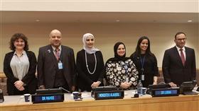 وزيرة الشؤون تستعرض بالأمم المتحدة إنجازات الكويت بمجال تمكين المرأة