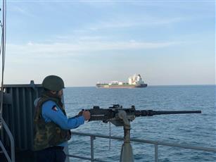 الجيش: القوة الموحدة «81» بدأت في تنفيذ تمرين «مرافقة ناقلة النفط»