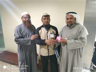 جمعية صندوق «إعانة المرضى» تقيم مسابقة ثقافية لمرضى الجاليات بمستشفى مبارك