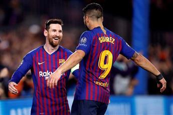 برشلونة يكتسح ليون بخماسية ويصعد لربع نهائي الأبطال