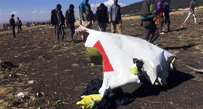 ألمانيا: ليس لدينا التقنية اللازمة لتحليل صندوق الطائرة الإثيوبية المنكوبة