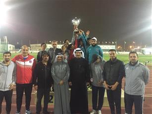 نادي «الكويت» يحرز لقب بطولة «ألعاب قوى البراعم» المحلية