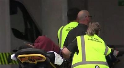 إطلاق أعيرة نارية في محيط مسجد بنيوزيلندا وسقوط مصابين