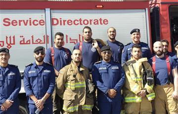 «الإطفاء» نفذت تمرينًا عمليًا في مدرسة بيان المتوسطة للبنات