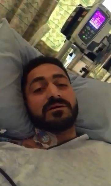 الأردني المصاب في حادث نيوزلندا يطالب الأردنيين بالدعاء لابنته المصابة