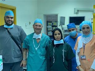 د. الذايدي: إجراء 12 عملية جراحية لعلاج السلس البولي النسائي في مستشفى العدان بمشاركة بروفيسور إيطالي