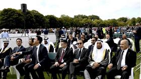مبعوث سمو الأمير يشارك في مراسم عزاء ضحايا «مجزرة المسجدين»