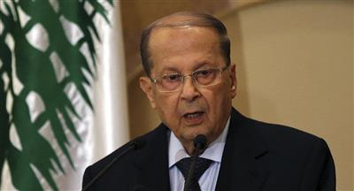 الرئيس اللبناني يطالب أمريكا بمساعدة بلاده في إعادة النازحين إلى سوريا