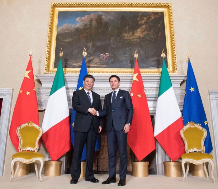 إيطاليا أول دولة في مجموعة الـ جي تنضم إلى مشروع طريق الحرير
