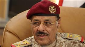 نائب الرئيس اليمني علي محسن الأحمر