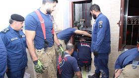 «الإطفاء»: تحرير مواطنة وطفلة احتجزهما مصعد منزل في مبارك الكبير