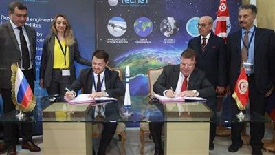التوقيع على اتفاقية لإطلاق أول قمر صناعي تونسي