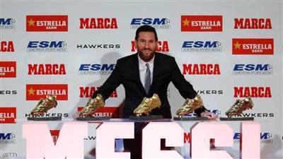 ميسي يحافظ على صدارة قائمة الحذاء الذهبي.. ورونالدو في المركز الثالث
