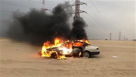 «الإطفاء»: إخماد حريق مركبة على طريق السالمي كيلو ٢٢.. دون وقوع إصابات