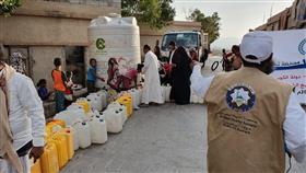 حملة إغاثية نفذتها «النجاة الخيرية» الكويتية في اليمن