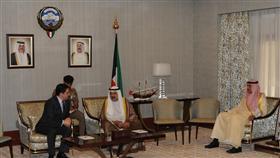 رئيس مجلس الوزراء بالإنابة يبحث مع وزير الشؤون الخارجية المغربي المواضيع المشتركة